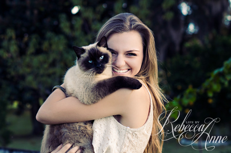 girl, cat, siamise, blue eyed cat, smile, country