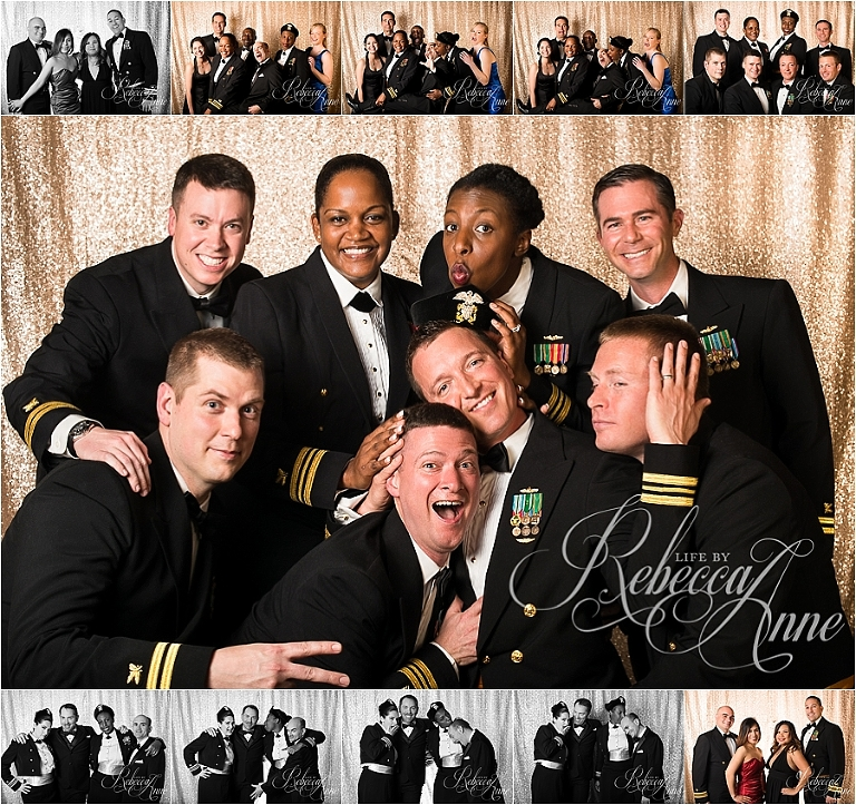 Navy ball, navy, supply, corps, birthday, party, photo booth, officers, uniform